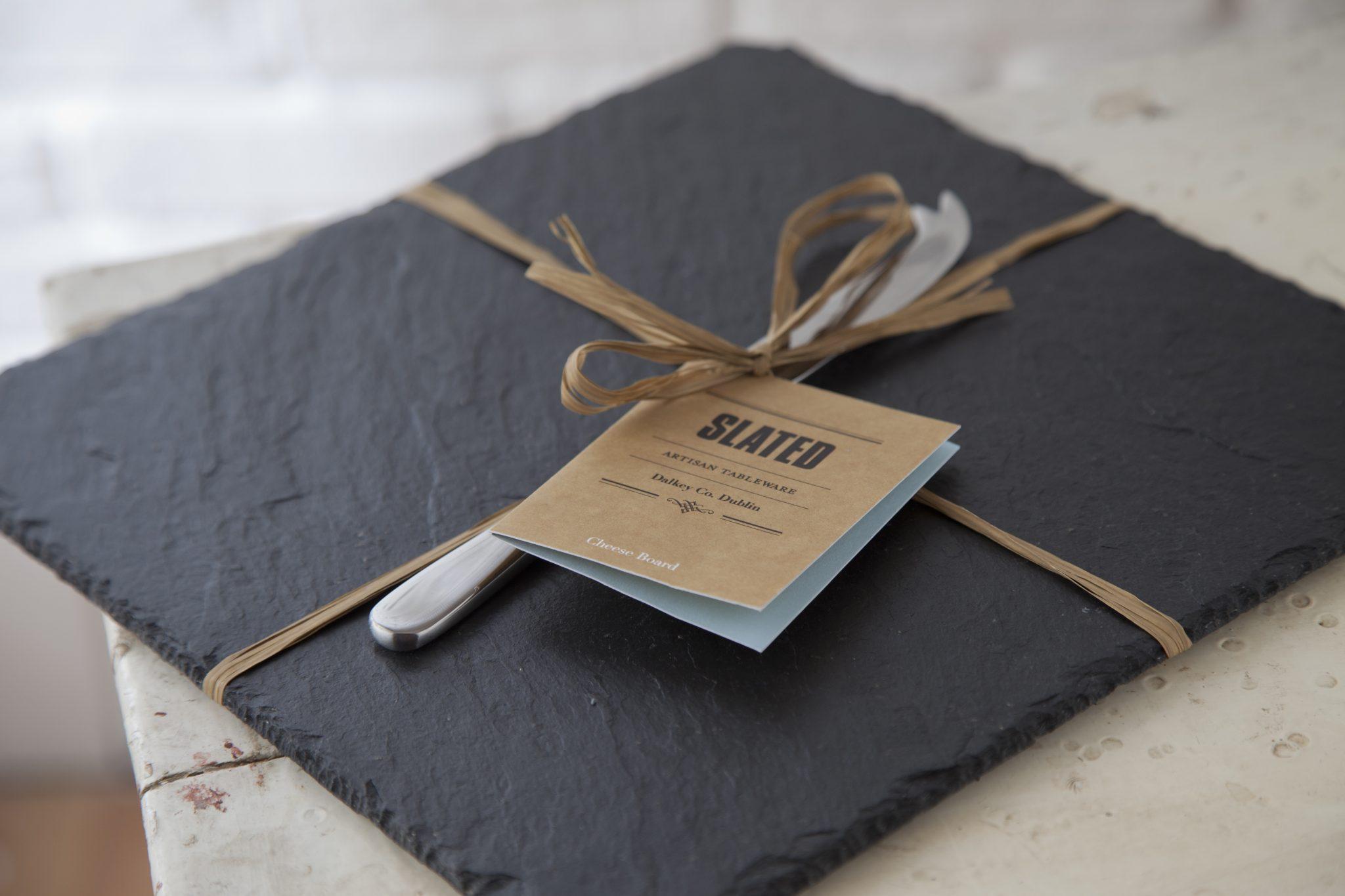 gift square cheeseboard wedding gift gift slated slated ireland