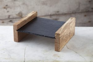 wood and slate, sharing platter, serve, wedding gift, foodie gift, slated, slated.ie