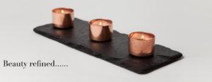 Copper Candle Trio